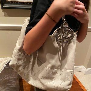 -Authentic CHANEL White handbag